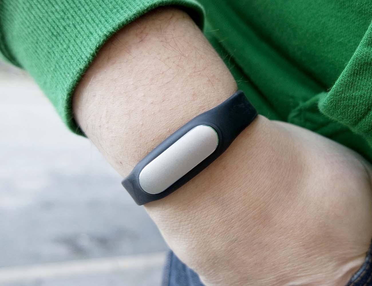 Xiaomi Mi Band With An Optical Heart Rate Sensor
