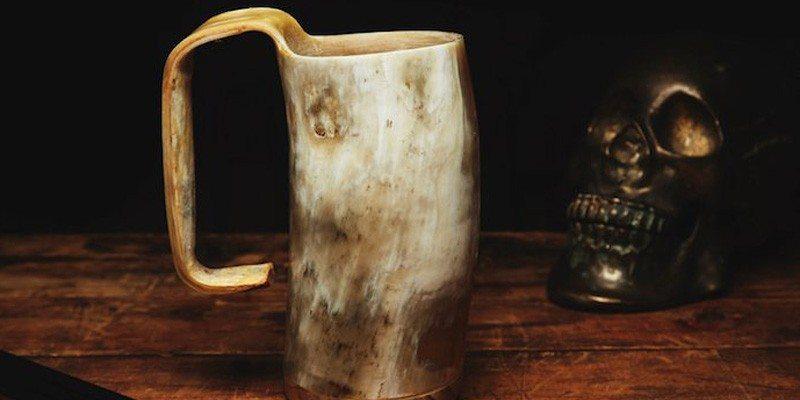 Handmade Horn Mug