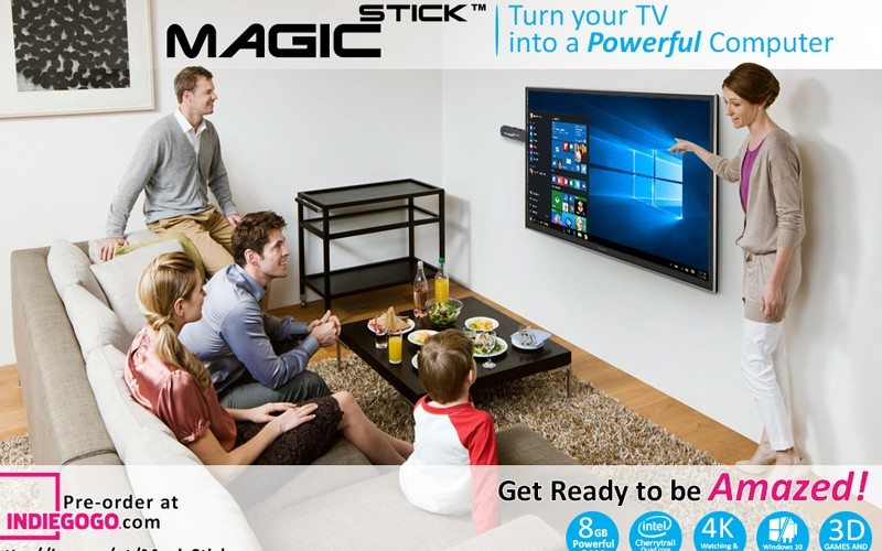 MagicStick computer on stick