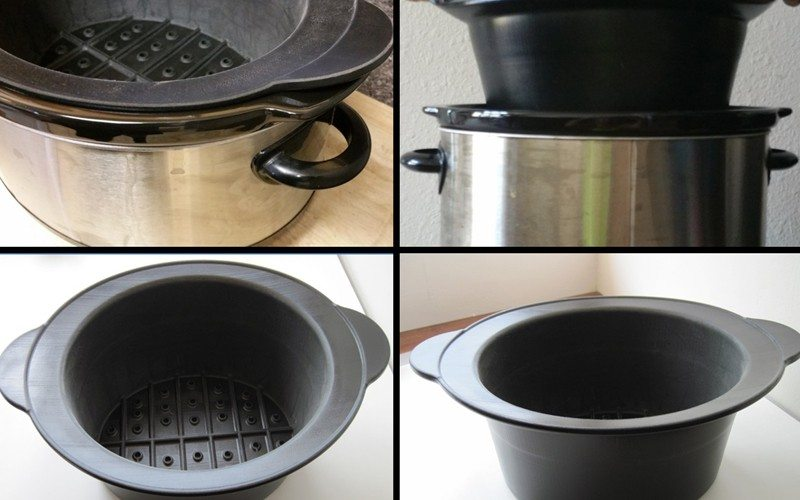Separaide slow cooker accessory