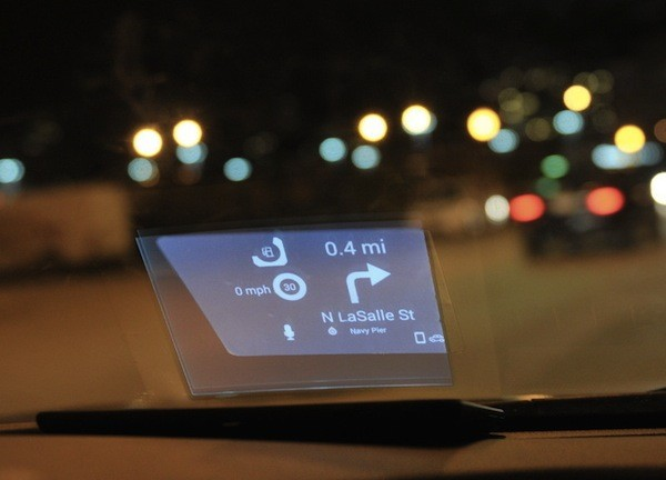 Carloudy Heads-up Display Uses E-Ink for Spectacular Battery Life