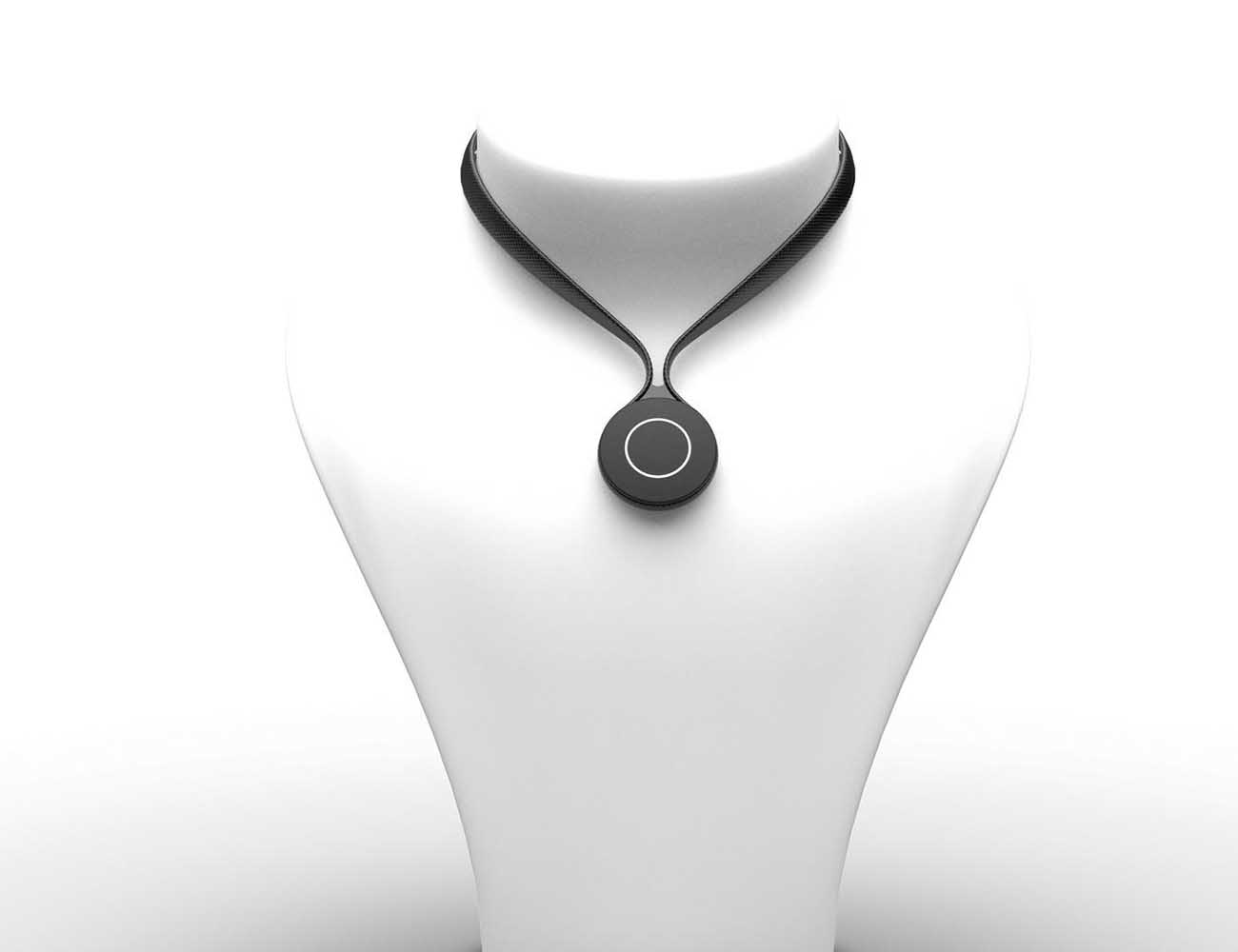 Arc Pendant – Smart Body Monitor with Voice Command