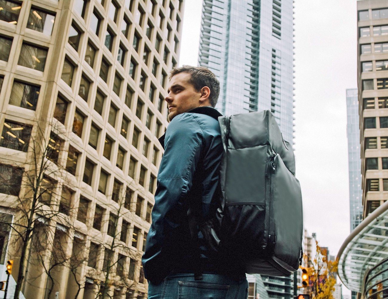 World's Best Carry-on / Backpack Luggage with Built in Shelf