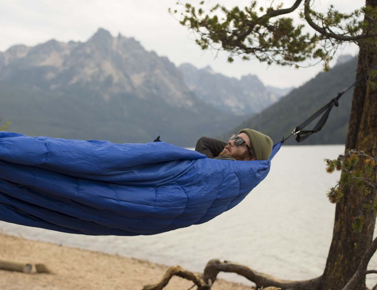 Bison Bag G1 – The World's First Sleeping Bag Hammock
