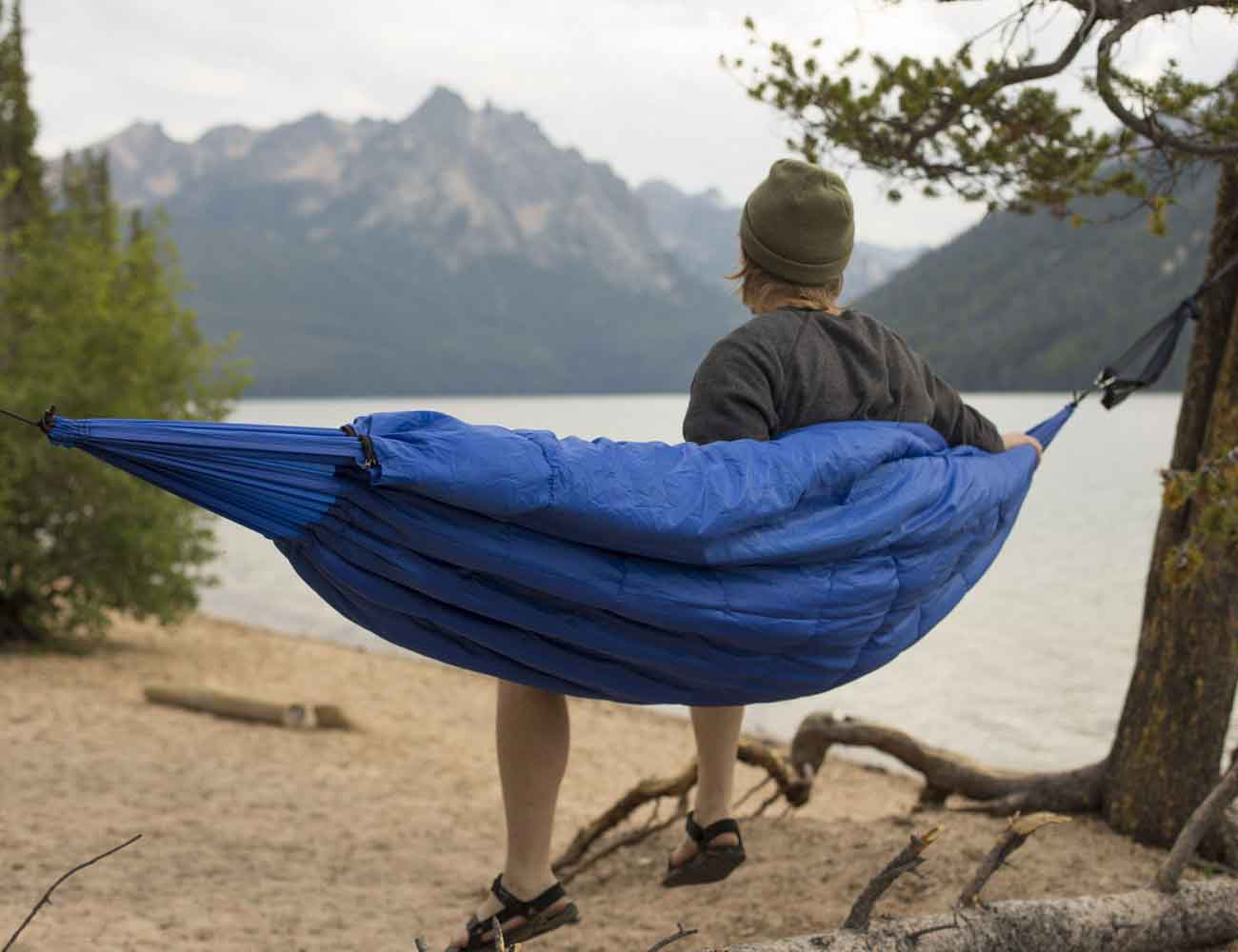 Bison Bag G1 – The World's First Sleeping Bag Hammock ...