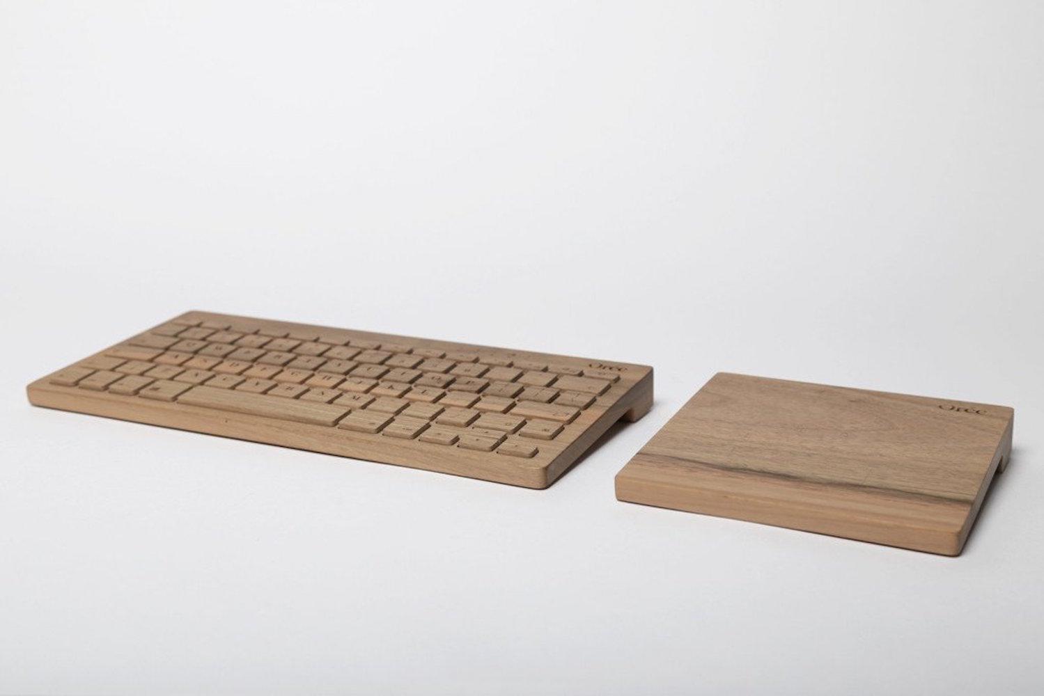Board 2 by Orée – The Walnut Wood Wireless Keyboard