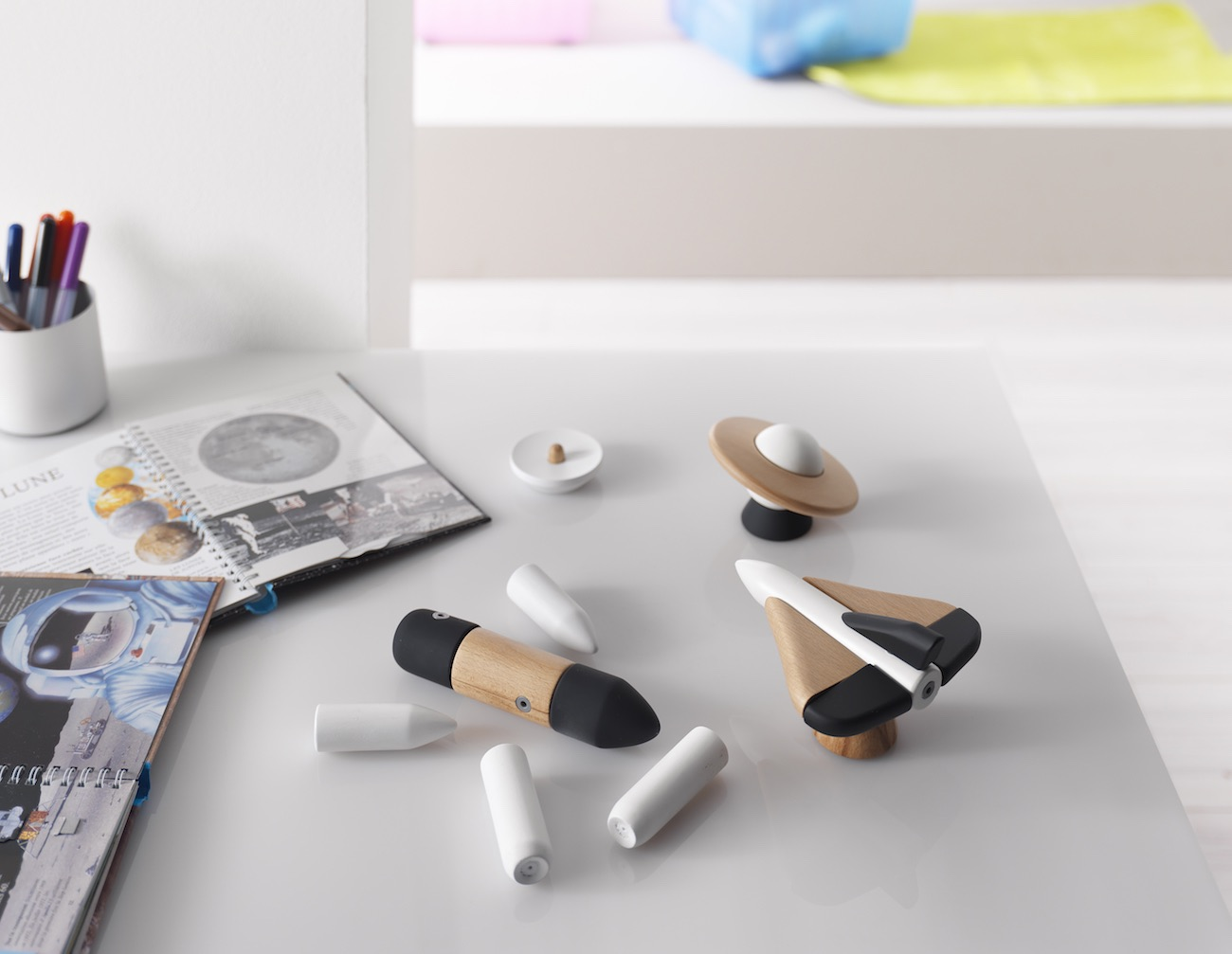 COSMOS – Magnetic, Wooden Space Toys