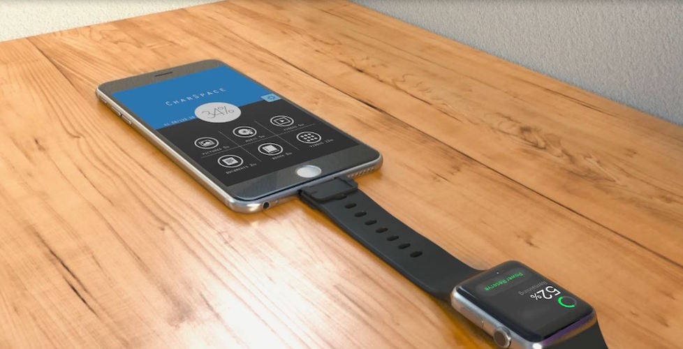 CharSpace – Charge Apple Watch by iPhone
