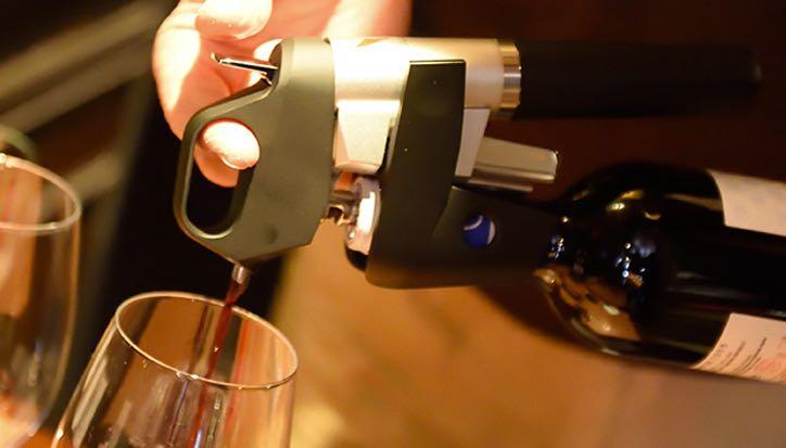 Coravin trigger