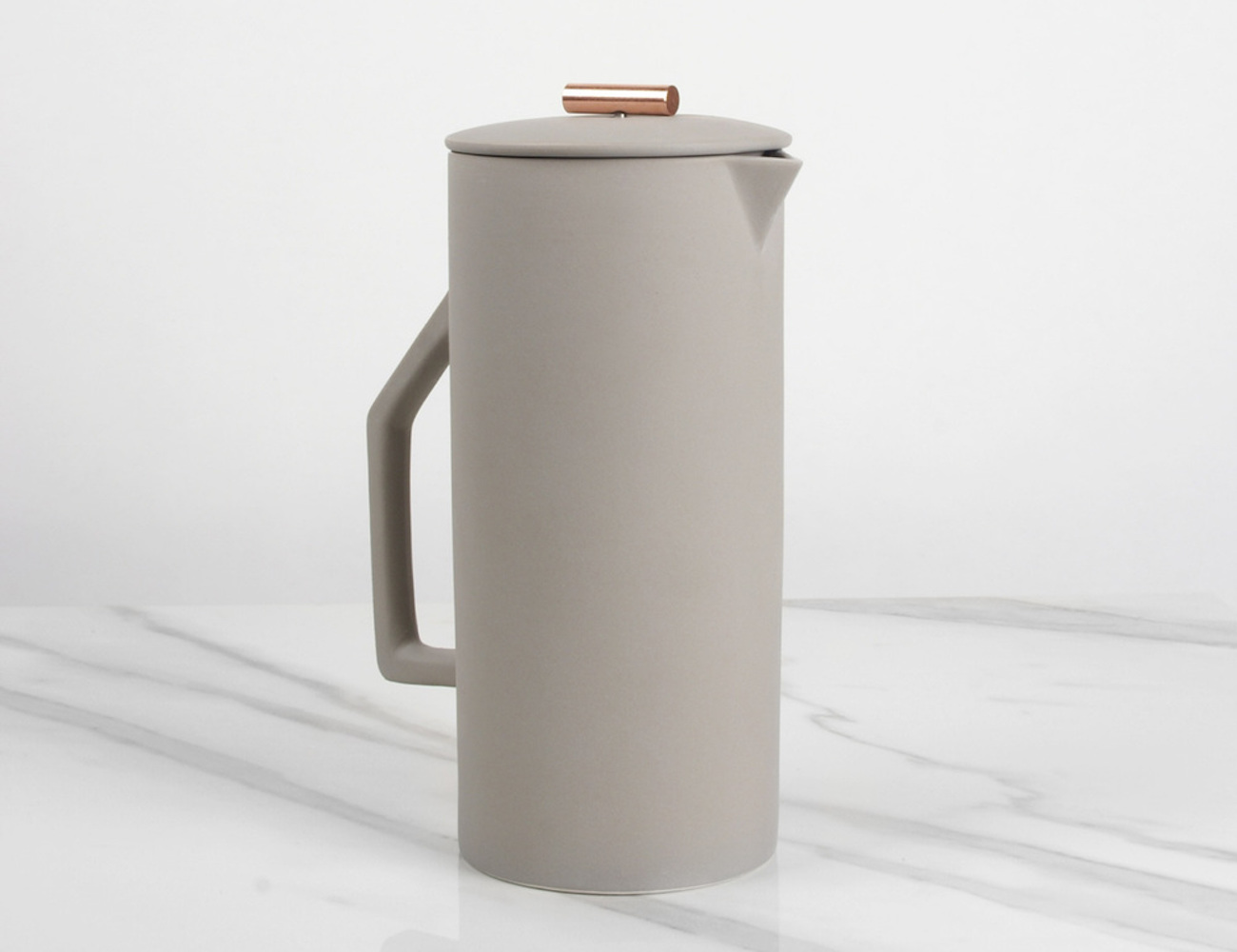 Cream French Press by YIELD
