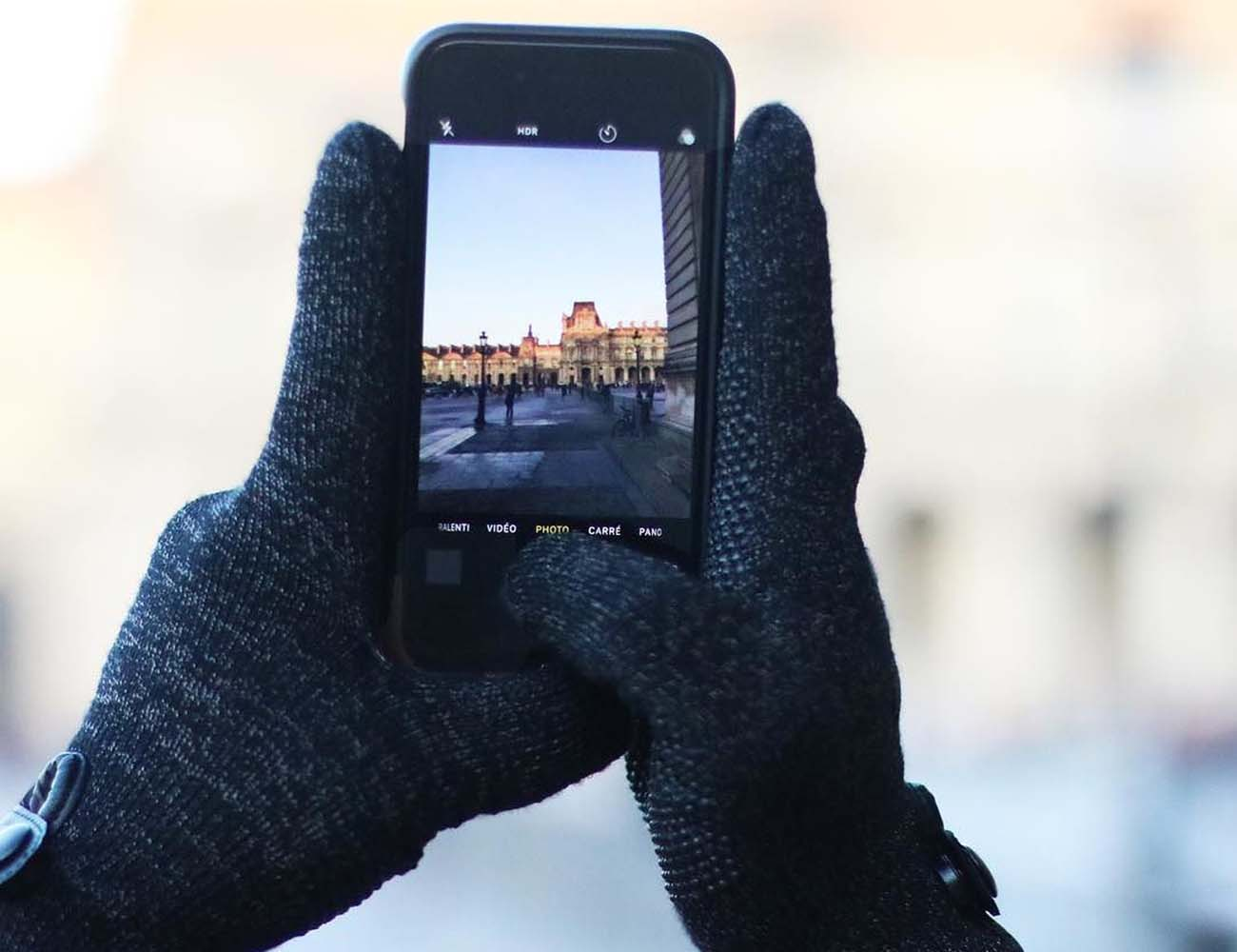 Double Layered Touchscreen Gloves by Mujjo » Gadget Flow a60297f5e6d