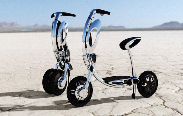 INU Electric Scooter Features Auto-folding and Sleek Power