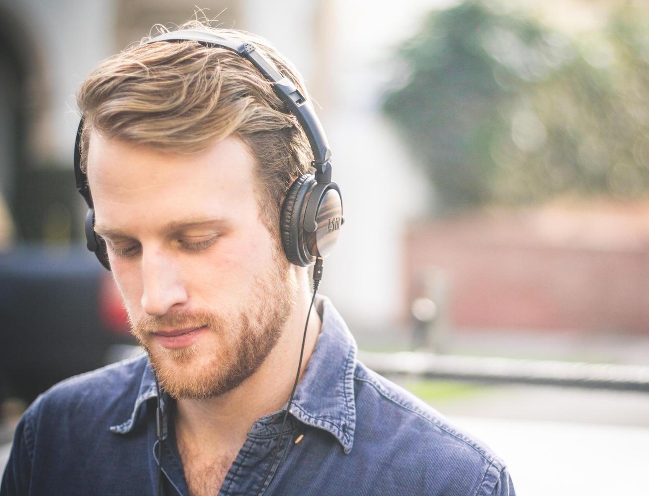 Ebony Wood Fillmores Headphones by LSTN