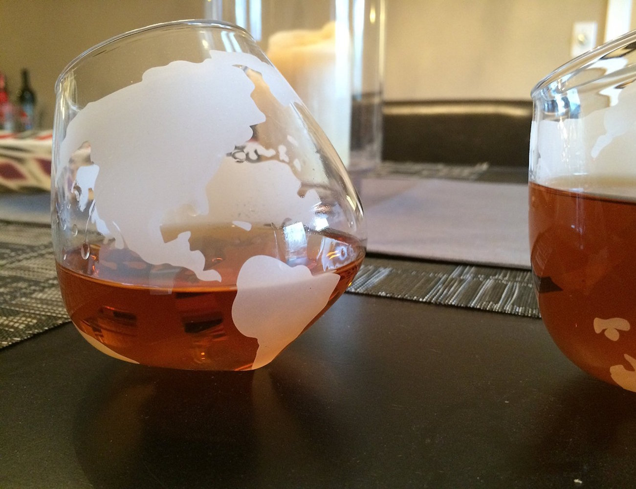 Etched+Spinning+Globe+Whiskey+Glasses