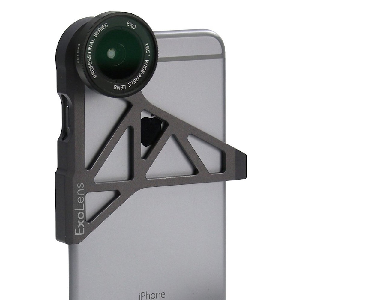 ExoLens Wide Angle & Telephoto Lens for iPhone