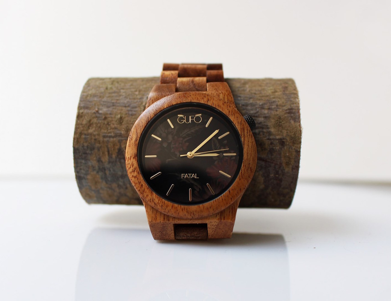 Fatal Wooden Watch by GUFO Italy