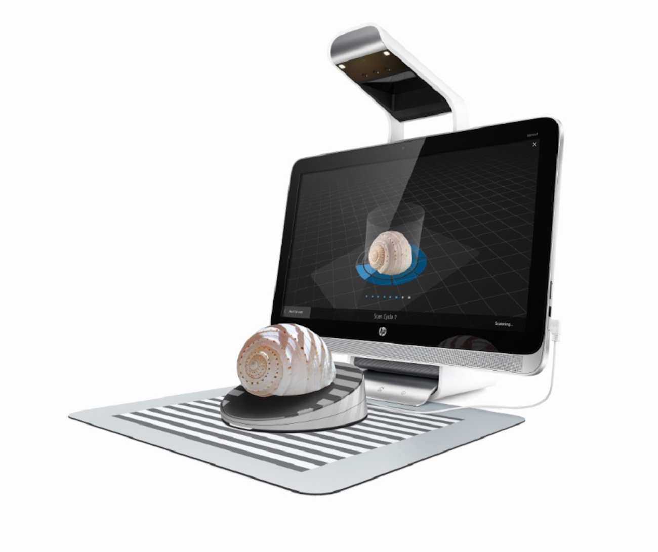 HP 3D Capture Stage for Sprout