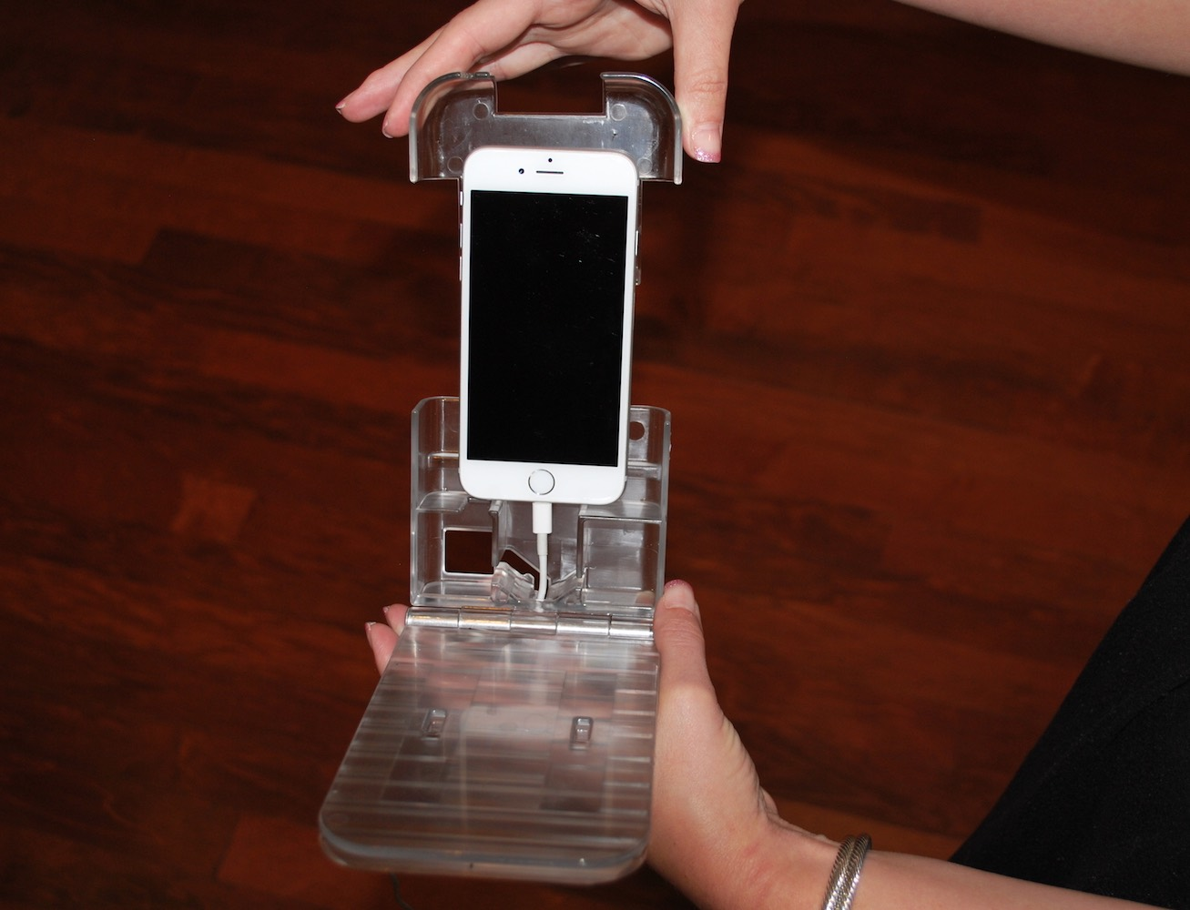 The Holding Cell-Cell Phone Holder for your Bed
