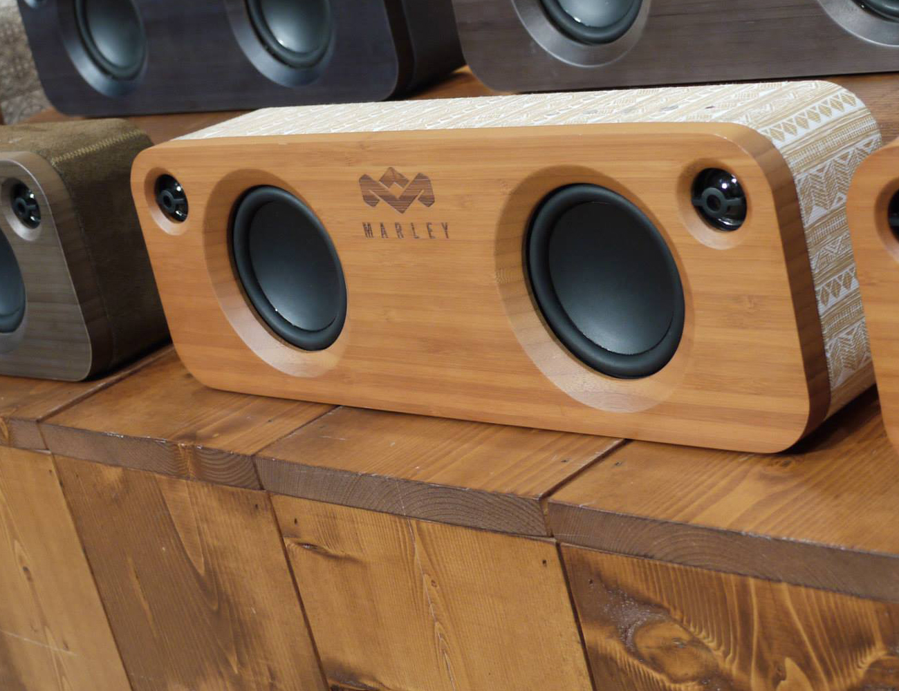 House of Marley Portable Speaker Bundle