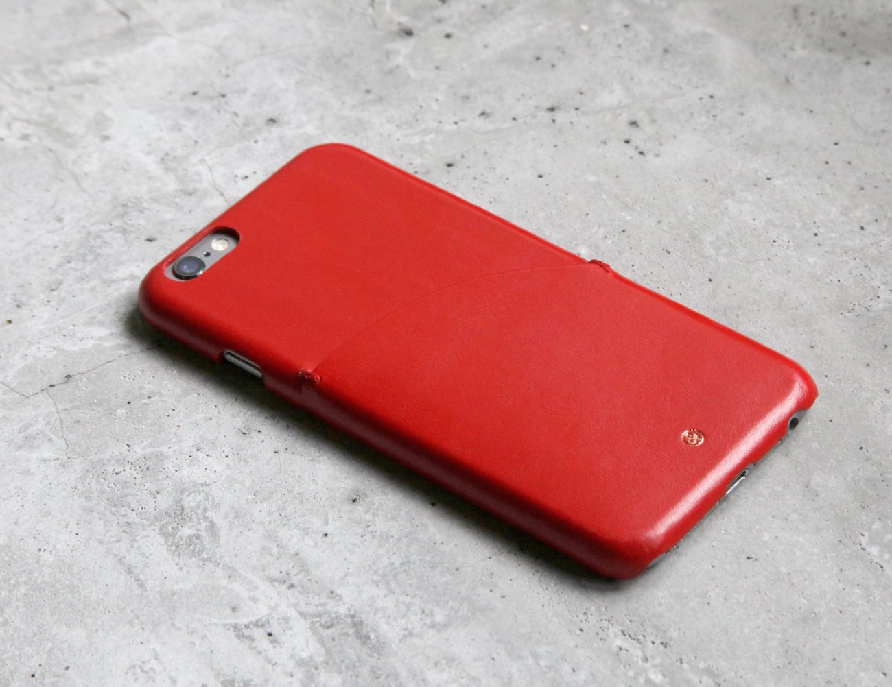 Italian Leather Pocket iPhone Case by Dry & Co