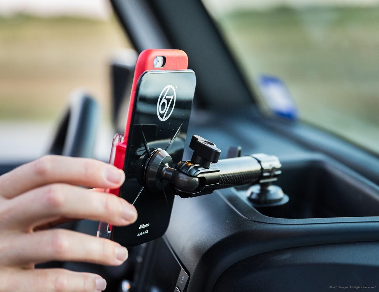 Cf Carbon Fiber Series Jeep Jk Mount For Iphone 6 6s
