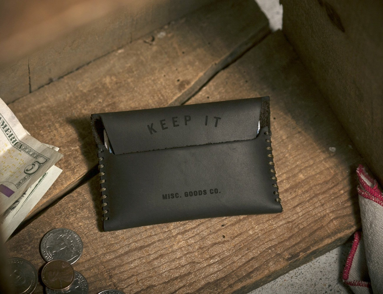 Keep It/Lose It Wallet by Misc. Goods Co