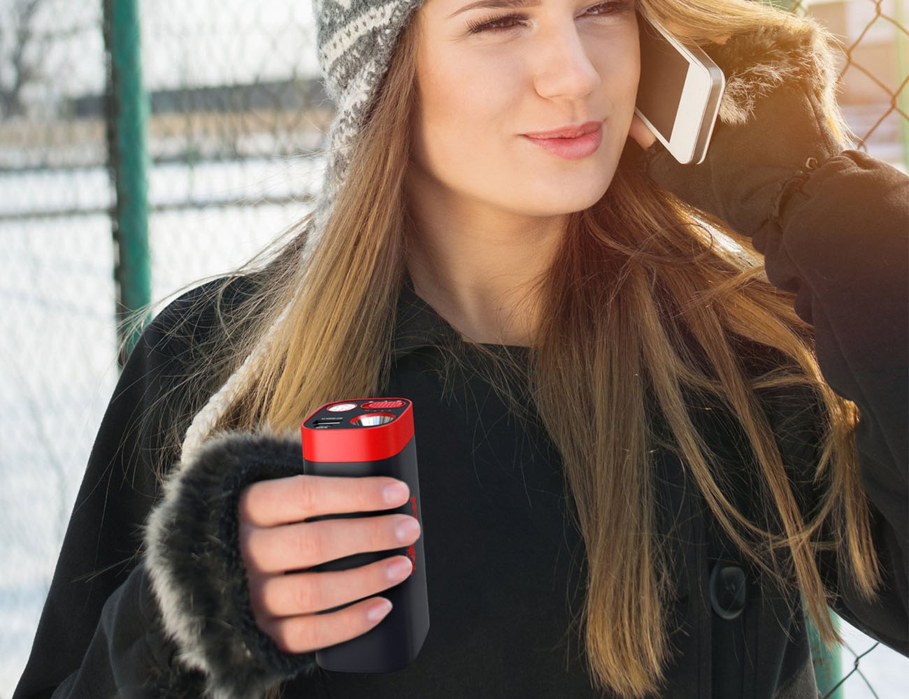 Kozy XL Rechargeable Hand Warmer and Portable Battery