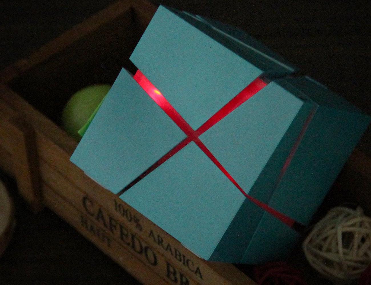 LED Cube Wireless Bluetooth Speaker