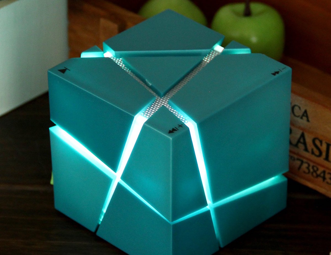LED Cube Wireless Bluetooth Speaker