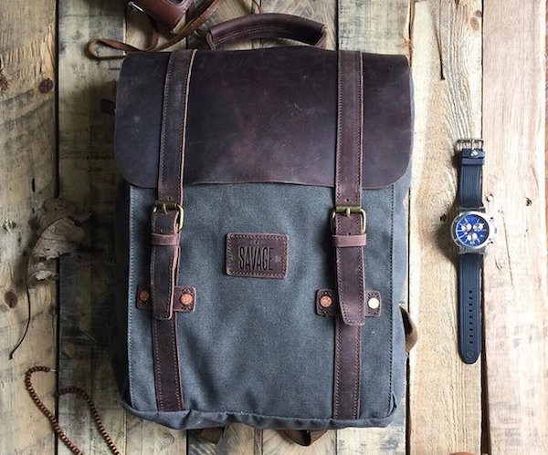 Leo+%E2%80%93+The+Duck+Canvas+Backpack+By+Savage+Supply+Co