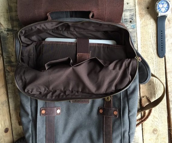 Leo – The Duck Canvas Backpack by Savage Supply Co