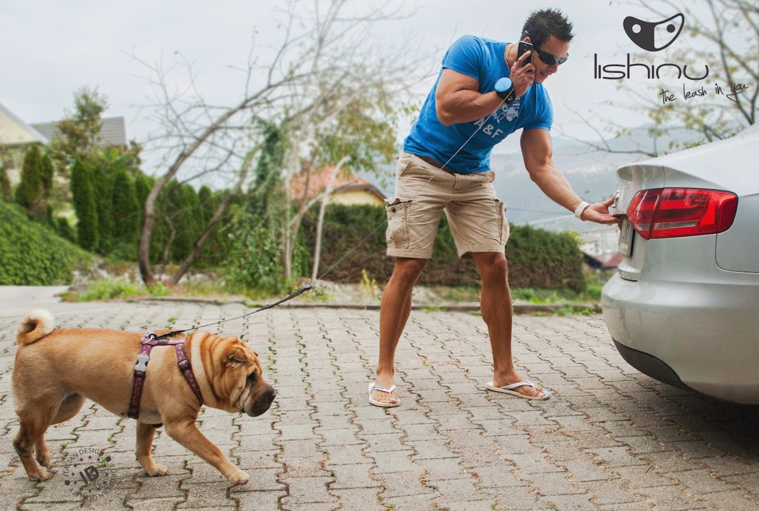 Lishinu – The Hands Free Dog Leash
