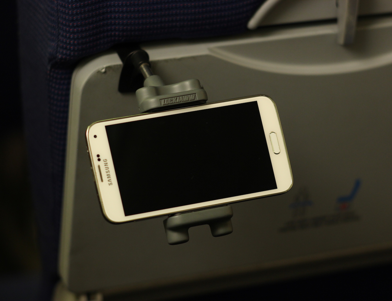 Lockjaww In-flight Mobile Device Holder loading=