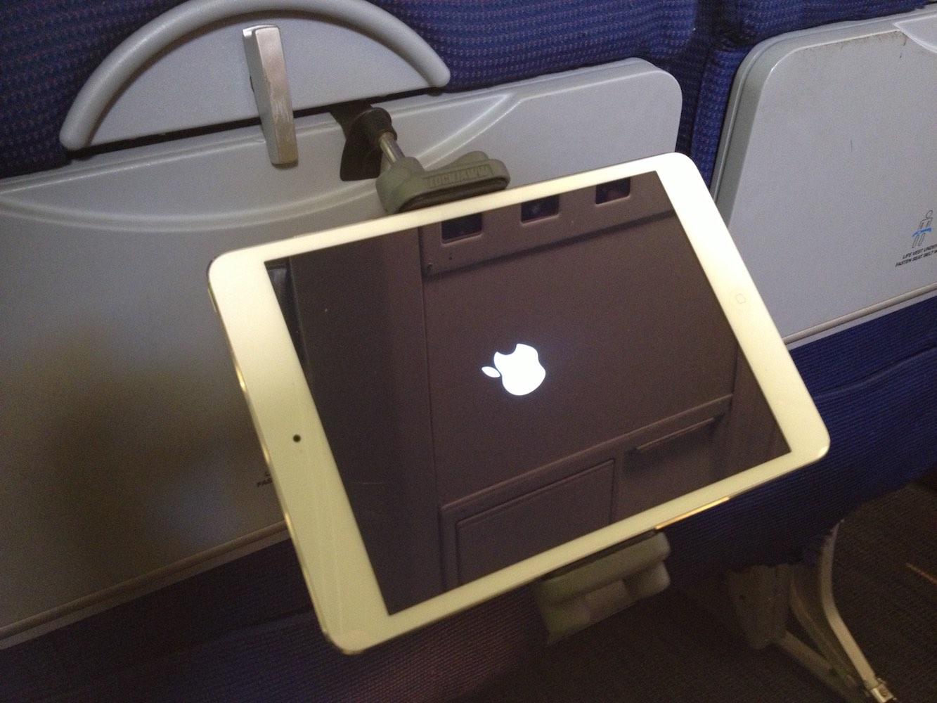 Lockjaww In-flight Mobile Device Holder