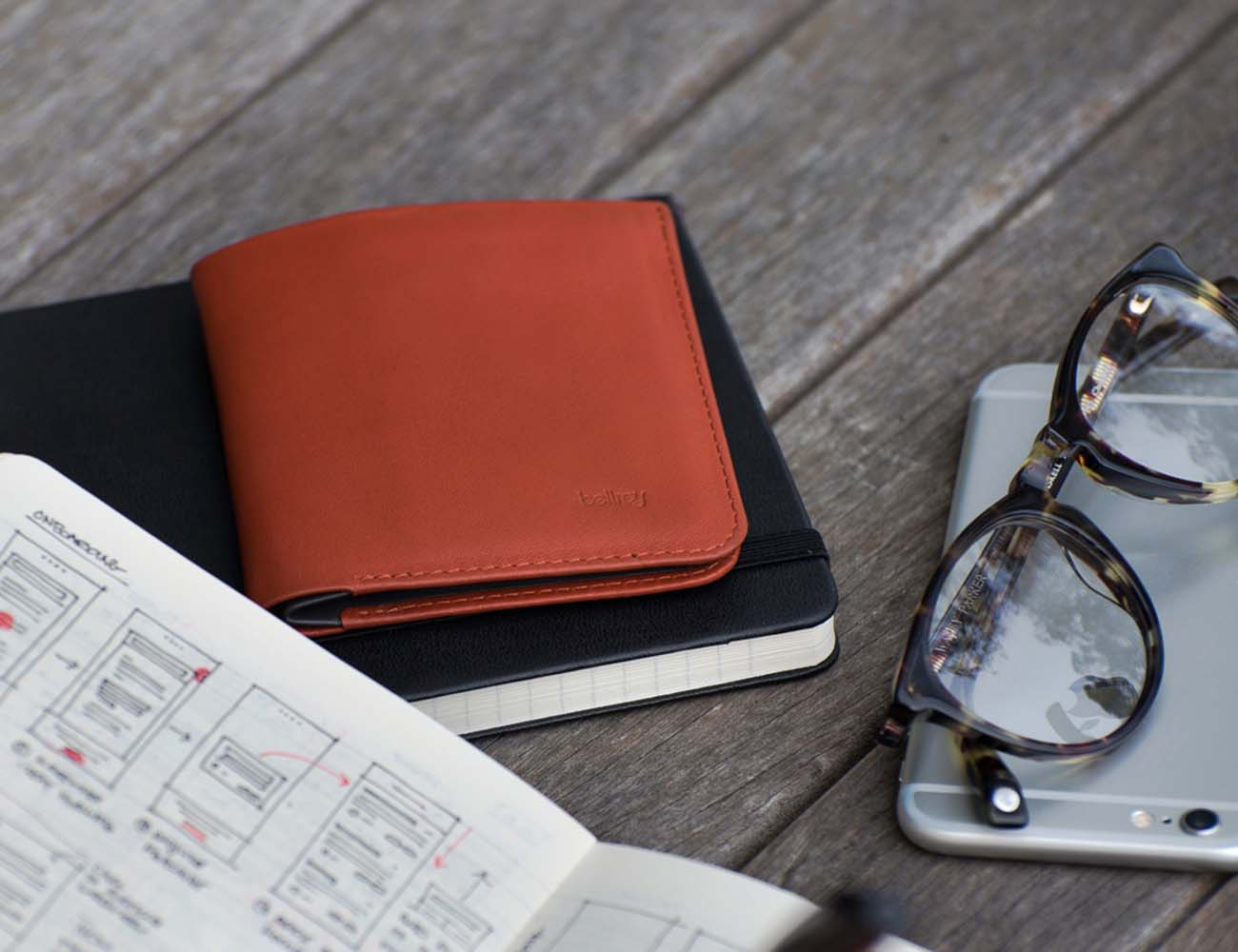 Low Down Wallet by Bellroy
