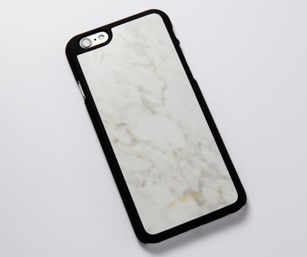 World's First Real Marble Notebook Journal & Gemstone iPhone 6s Case