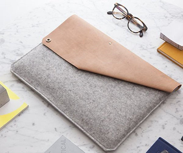 Leather+%26amp%3B+Felt+MacBook+Air+Sleeve+By+Alexej+Nagel
