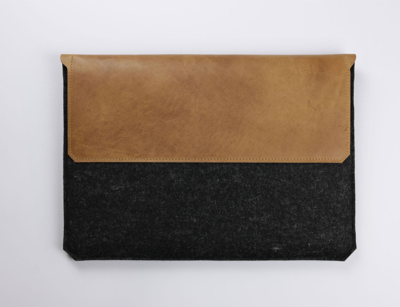 Leather & Felt MacBook Air Sleeve by Alexej Nagel