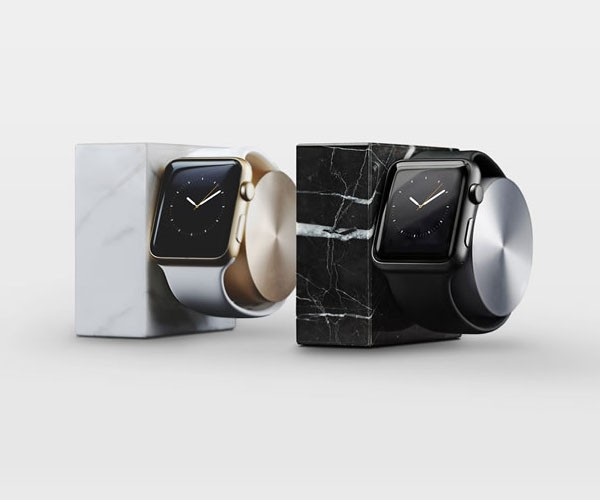 Marble Edition DOCK for Apple Watch by Native Union