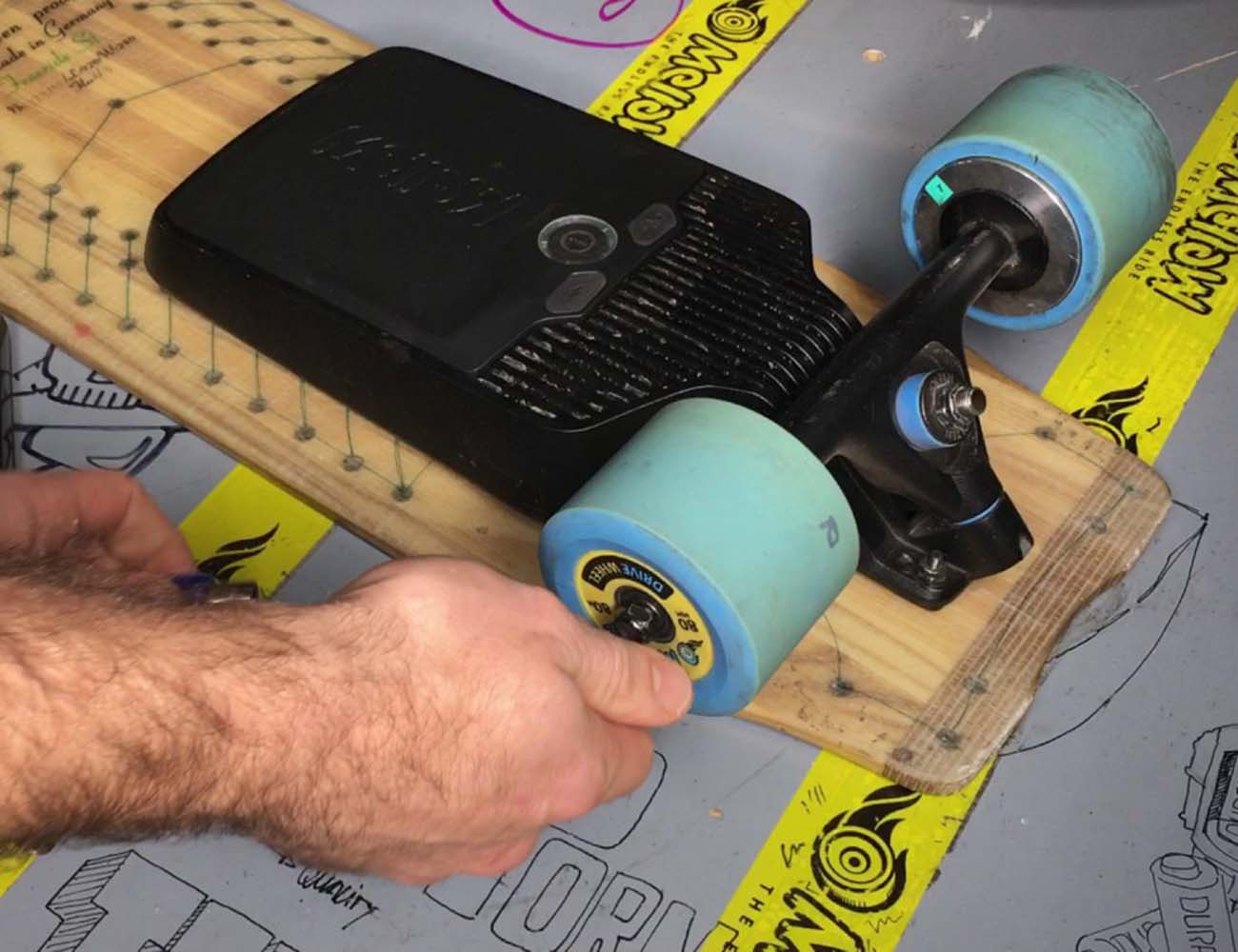 Mellow Drive Electric Skateboard Component