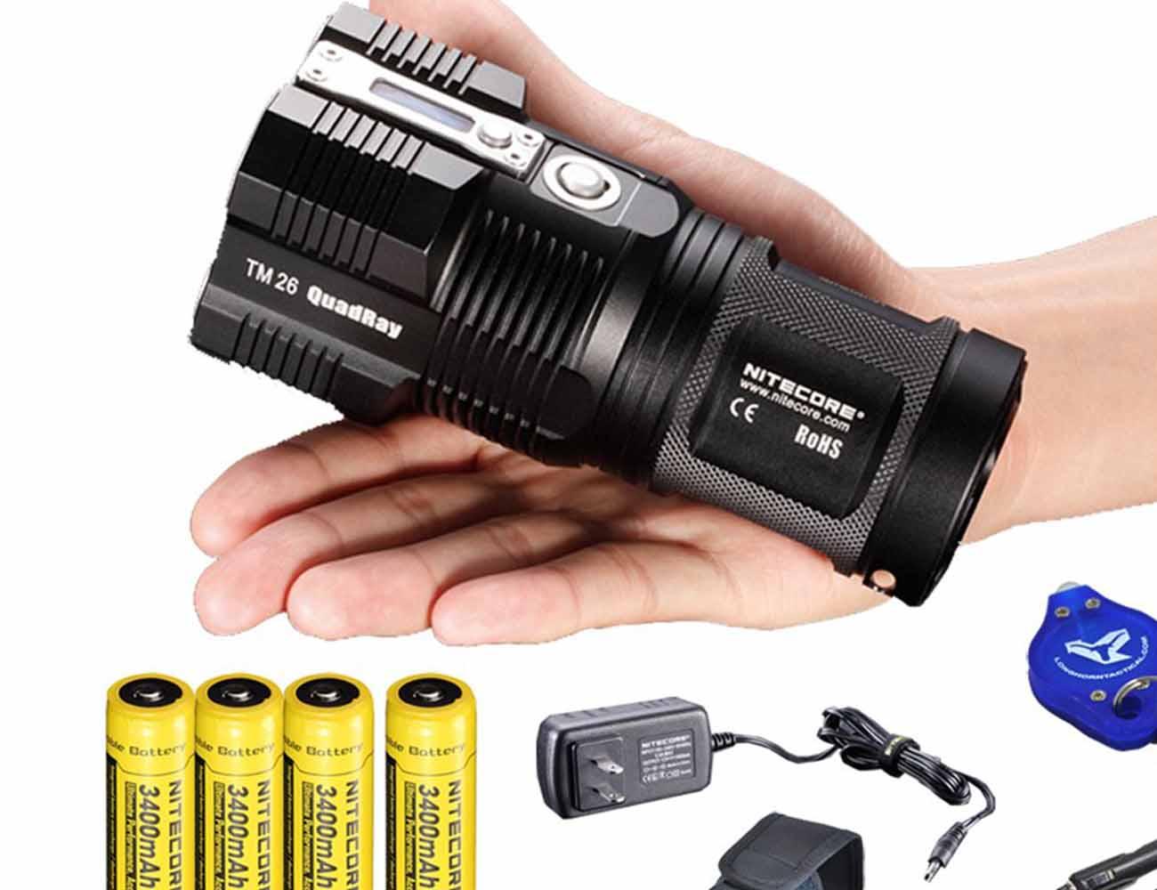 NiteCore TM26 Tiny Monster Flashlight