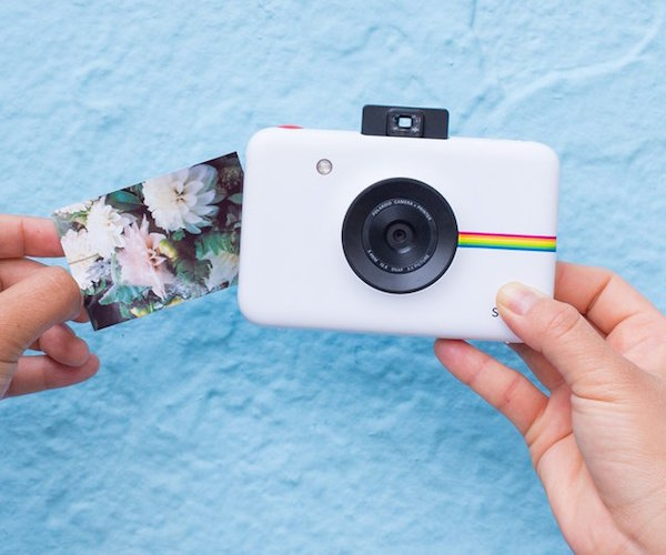 polaroid snap instant digital camera gadget flow. Black Bedroom Furniture Sets. Home Design Ideas