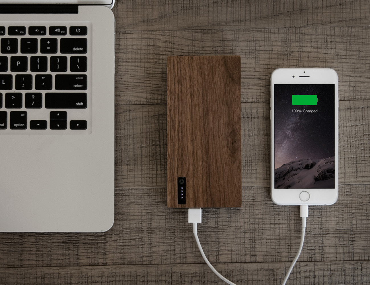 PowerPlant Wooden Portable