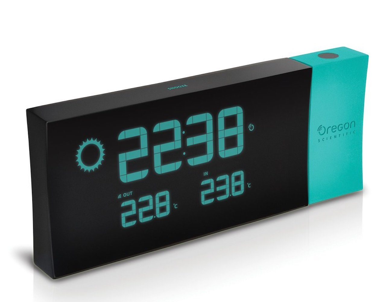 Prysma Weather Forecast Atomic Projection Clock