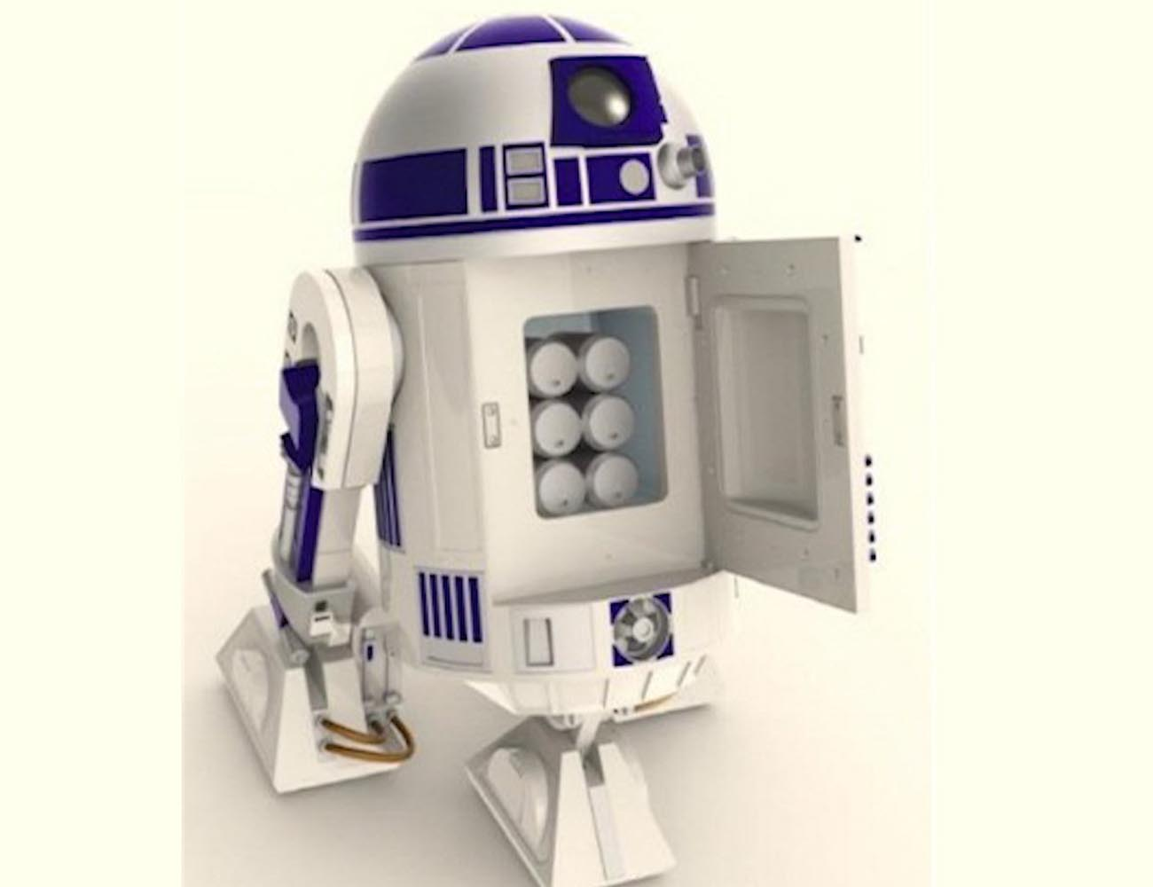 R2d2 R2-D2 Moving Re...