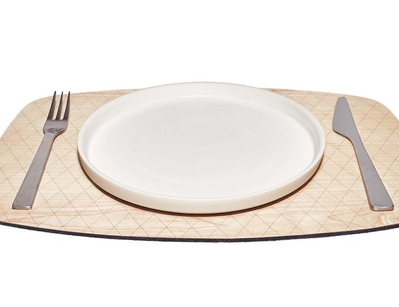 Reversible Maple Placemat by Grovemade