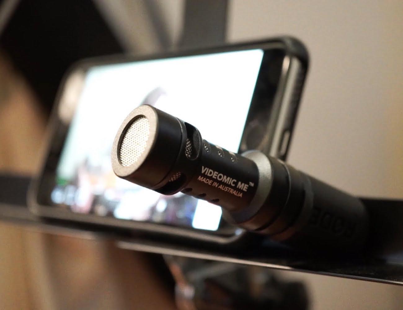 Rode VideoMic Me Compact iOS Shotgun Microphone