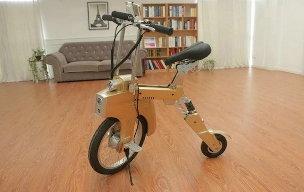 SitGo: Portable, Easy-to-Charge Electric Bike