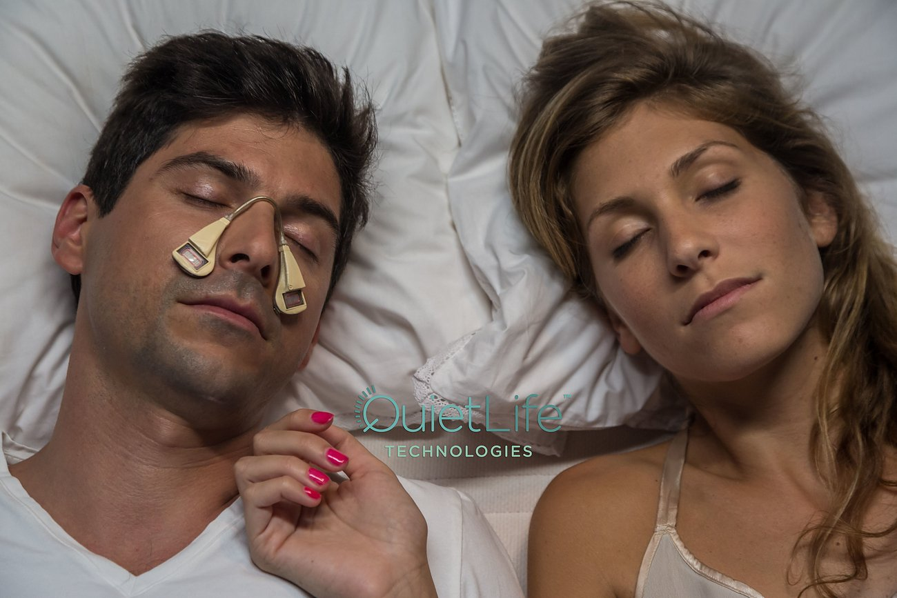 Silent Partner Eliminates The Sound Of Snoring At The