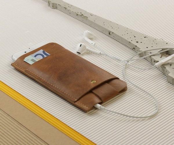 Slim+Fit+Vintage+Leather+Wallet+%26amp%3B+Sleeve+By+Alexej+Nagel